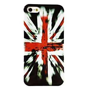HP DFPunk The United Kingdom National Flag Pattern TPU Soft Case for iPhone 5/5S , Multicolor