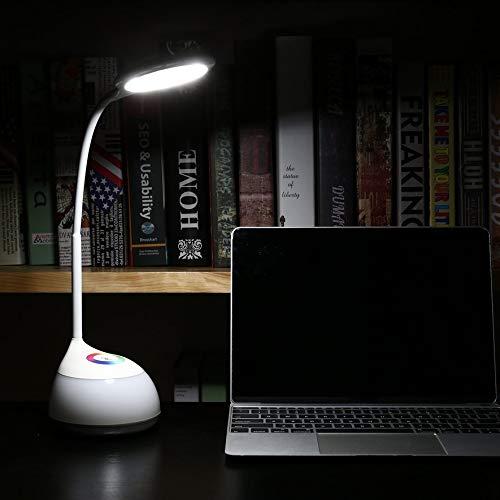 RoadRoma 5500K Protezione degli Occhi Flessibile Flessibile Sensore di Contatto Lampada a Colori a Luce Vivente Lampada a LED Bianca