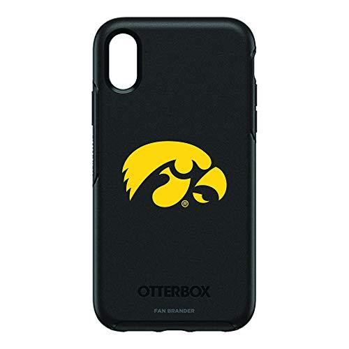 (Fan Brander NCAA iPhone XR OtterBox Symmetry Series Case (Iowa Hawkeyes))