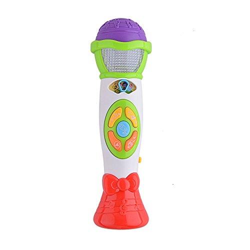 Acefun Kids Voice Changing and Recording Microphone with Colorful Light Musical Toys