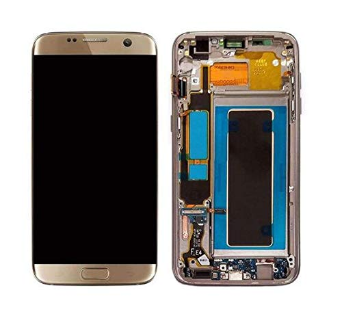 - Galaxy S7 Edge LCD Display Digitizer Touch Screen Assembly for All Models (G935A G935V G935P G935T) by Mr Repair Parts (for Phone Repair) (Gold)