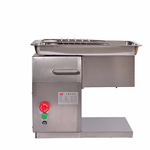 Kohstar 110V/220V QX Stainless Steel Meat Slicer/Cutter Desktop Type Meat Cutter Meat Cutting Machine