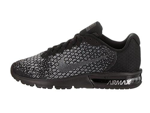 very cheap price NIKE Men's Air Max Sequent 2 Running Shoe Black/Dark Grey Size 13 M US popular authentic online 70HcdK395