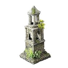 Europet Bernina Internacional Acuario Decoración mausoleo, 14,5 x 13,7 x 30,2 cm