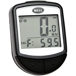 Bell Console 300 16 Function Cyclometer, Black