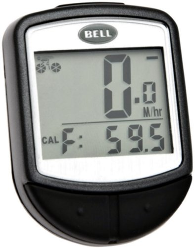 Bell Console 300 16-Function Cyclometer, Black by Bell