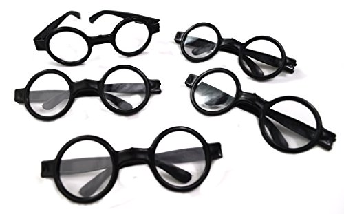 [Dazzling Toys Wizard Glasses - Great accessory for a wizard (Harry Potter) birthday party, 12 Pack] (Best Nerd Girl Halloween Costume)