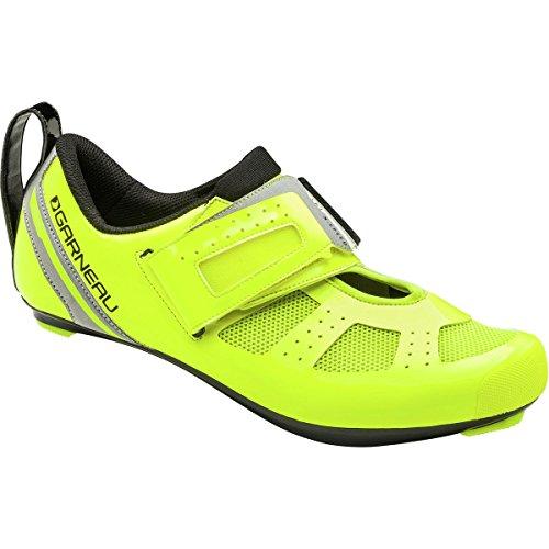 Louis Garneau 2017/18 Men's Tri X-Speed III Triathlon Cycling Shoes - 1487261-023 (BRIGHT YELLOW - 49)
