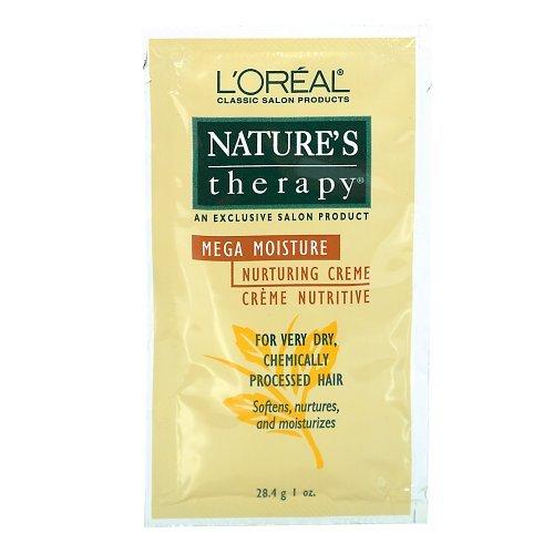 L'Oreal 1 oz Nature's Therapy Mega Moisture Nurturing Creme (Mega Moisturizer)