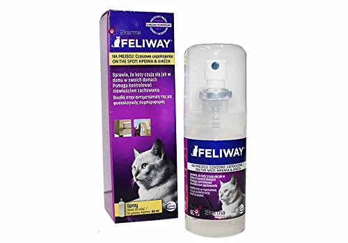 Feliway Pheromone Cat Calming Relaxant Spray (60ml)