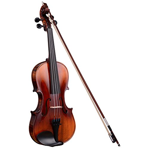 Vif Full Size 4/4 Handmade Stradivari 1721 Copy German Style Violin Fiddle Case Bow Music Hobby by AW