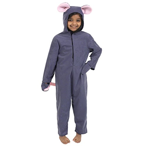 [Mouse Costume for Kids 4-6 Years] (Pinky Brain Costume)