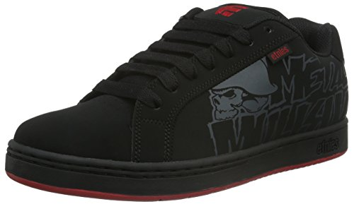 Fader Black Etnies Metal Black Skate Shoe Red Mulisha R7zqvF
