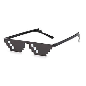 SUNNYJ Gafas De Sol Gafas 8 bit MLG Lentes De Sol ...
