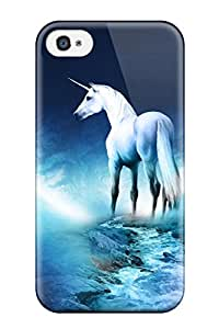 Iphone 4/4s Case, Premium Protective Case With Awesome Look - The Last Unicorn