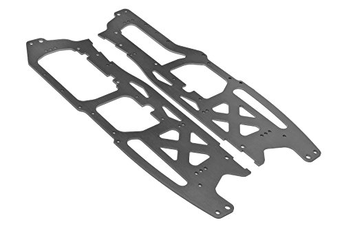 HPI Racing 100902 Main Chassis Set Savage Flux, 2.5mm, Gray Hpi Main Chassis