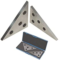 Anytime Tools Angle Block Set 30-60-90 & 45-45-90 Precision +/- 20 Seconds, Machinist Tool, 2 Piece Set