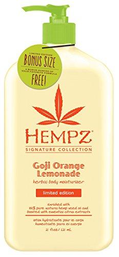 Hempz Goji Orange Lemonade, Herbal Body Moisturizer, Signature Collection Limited Edition, 21 Ounce