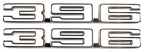 Fender Emblems - Pair -