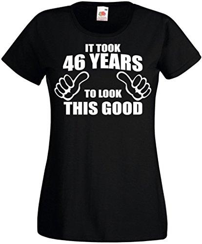 Novelty Gifts - Camiseta - Cuello redondo - Manga corta - para mujer