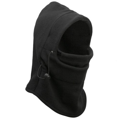 98f749d2c1a Eforstore 6 in 1 Thermal Fleece Balaclava Hat Hood Police Swat Ski ...