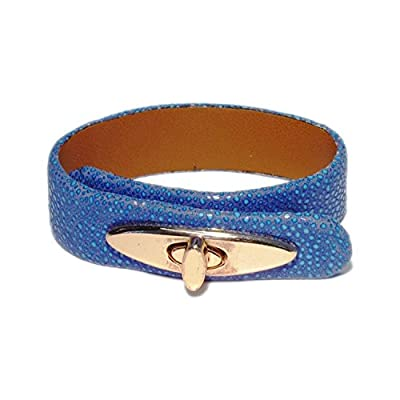 AUTHENTIC HANDMADE Leather Bracelet, Men Women Wristbands Braided Bangle Craft Multi [SKU001951]