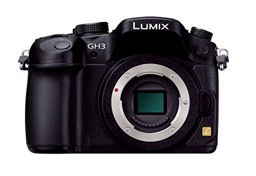 Panasonic Lumix DMC-GH3K 16.05 MP Digital Single Lens Mirrorless Camera with 3-Inch OLED - Body Only (Black) [International Version, No Warranty]