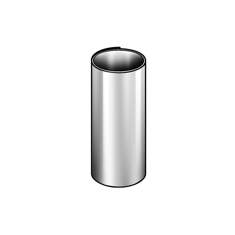 Precision Brand Shim Stock, Roll, Cold Low Steel, 0.0020 in Precision Brand Products 16A2