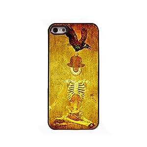 LCJ Human Skeleton Design Aluminium Hard Case for iPhone 4/4S by ruishername