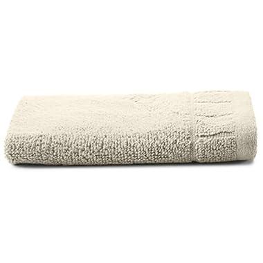 Calvin Klein Home Sculpted Grid Wash Cloth, Cream