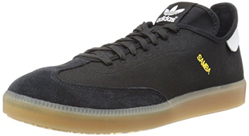 Adidas Originali Mens Samba Mc Lifestyle Sneaker Da Calcio Indoor Nero / Bianco / Oro