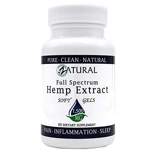 Hemp Extract Soft Gel 1,500mg: Premium Relief from Pain, Stress, Anxiety, and More_Natural Anti-Inflammatory_High in Omegas (60 Soft Gel (1,500mg)) by Zatural (Image #8)