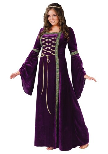 Plus-Size Deluxe Renaissance Lady Halloween Costume