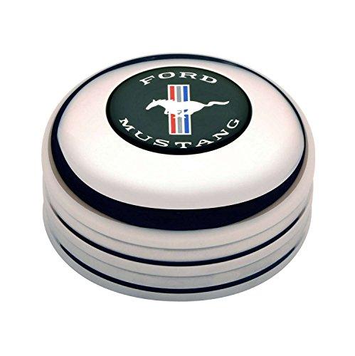 GT Performance 11-1025 Standard Horn Button with Mustang (Emblem Standard)