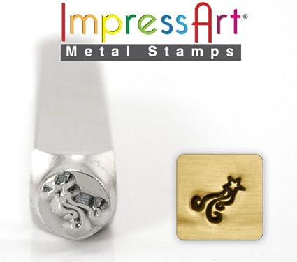 ImpressArt SCDESIGN-1517G Shooting Star Design Stamps 6 mm