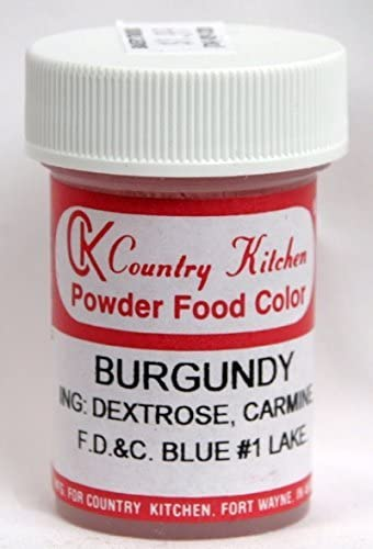Burgundy Powdered food coloring