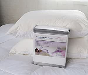 Amazon Com Luxury Cooling Summer Bedding Set Cool Touch