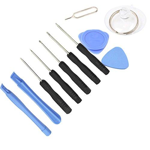 Mobilephone Repair Tool, Anokay 11 pieces Cell Phones Repair Professional Opening Pry Mobile Phone Repair Tool Kit Screwdriver Set for Iphone Samsung