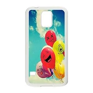 DIY Samsung Galaxy S5 I9600 Case, Custom Samsung Galaxy S5 I9600 Cover - Balloon