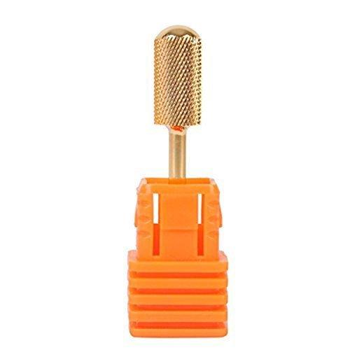 Nail Drill File Bit - TOOGOO(R)Electric Gold Nail Drill File Bit Carbide
