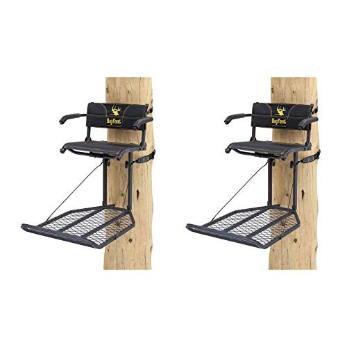 Rivers Edge Big Foot XL Lounger Hang On Portable Hunting Tree Stand (2 Pack) (Best Hunting Tree Stand)