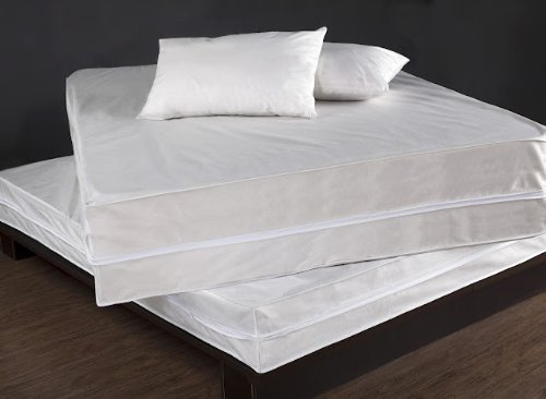 Permashield Antibacterial Extra Strong Complete Bed Protector Set, Twin XL