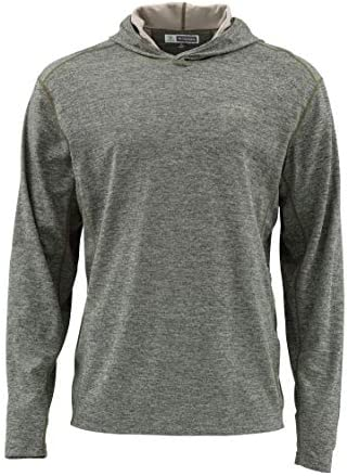 Simms Bugstopper 50+ UPF Hoody Shirt, Bug Repellent...