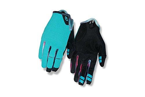 Giro 2018 Women's LA DND Full Finger Cycling Gloves (Glacier/Tie-Dye - - Fingered Gloves Cycling Full