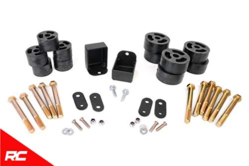 Body Lift Kit Compatible w/ 1987-1996 Jeep Wrangler YJ Body Suspension Manual Trans RC608 ()