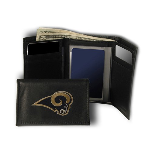 IFS - St. Louis Rams NFL Embroidered Trifold Wallet by IFS