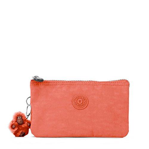 Kipling Creativity L Solid Pouch, Blood Orange