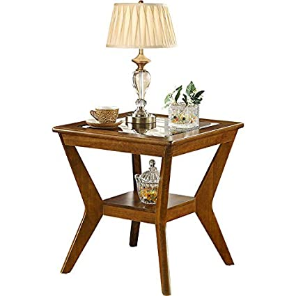 Amazon.com: Coffee Tables Corner, Sofa Side Table Living ...