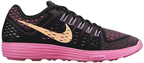 Snst Shoes Pw fchs Nike Glw pnk Running Black Lunartempo Women's XqU4wa