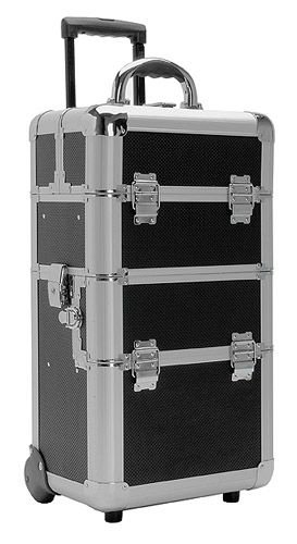 TZ Case Beauty Case with Movable Dividers and Deep Well Bottom by TZ Case